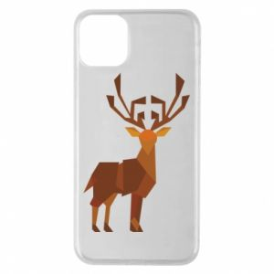 Etui na iPhone 11 Pro Max Deer abstraction