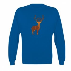 Bluza dziecięca Deer abstraction