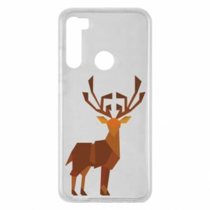 Xiaomi Redmi Note 8 Case Deer abstraction