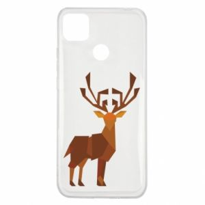 Etui na Xiaomi Redmi 9c Deer abstraction