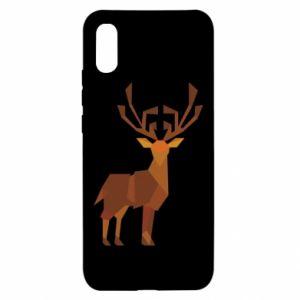 Etui na Xiaomi Redmi 9a Deer abstraction