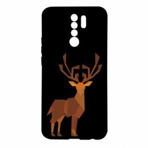 Etui na Xiaomi Redmi 9 Deer abstraction