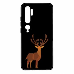 Etui na Xiaomi Mi Note 10 Deer abstraction