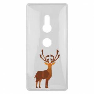 Etui na Sony Xperia XZ2 Deer abstraction