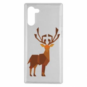 Etui na Samsung Note 10 Deer abstraction