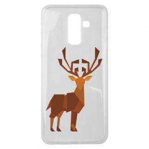 Etui na Samsung J8 2018 Deer abstraction