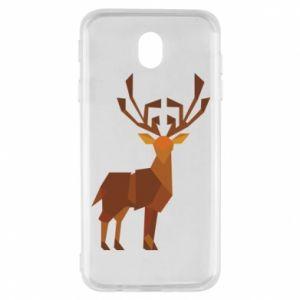 Etui na Samsung J7 2017 Deer abstraction
