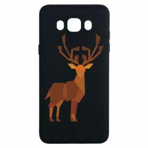 Etui na Samsung J7 2016 Deer abstraction
