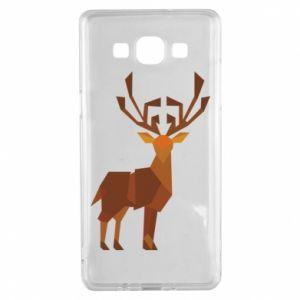 Etui na Samsung A5 2015 Deer abstraction