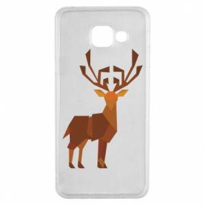 Etui na Samsung A3 2016 Deer abstraction