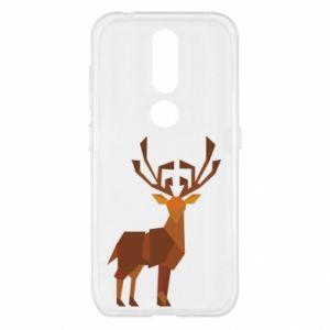 Etui na Nokia 4.2 Deer abstraction
