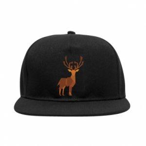SnapBack Deer abstraction - PrintSalon