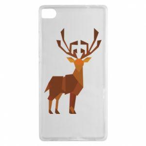 Etui na Huawei P8 Deer abstraction