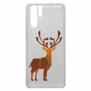 Etui na Huawei P30 Pro Deer abstraction