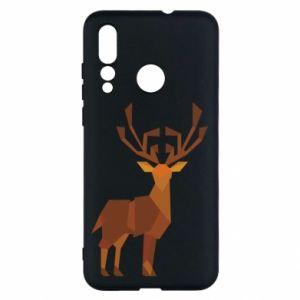 Etui na Huawei Nova 4 Deer abstraction