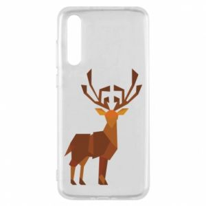 Etui na Huawei P20 Pro Deer abstraction