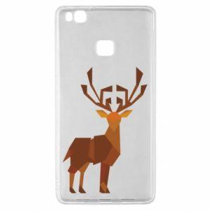 Etui na Huawei P9 Lite Deer abstraction