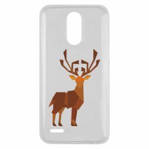 Etui na Lg K10 2017 Deer abstraction