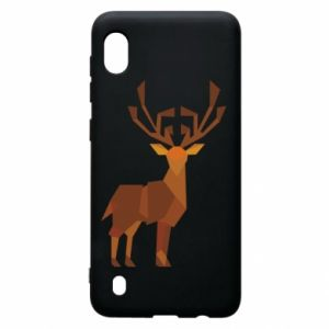 Etui na Samsung A10 Deer abstraction