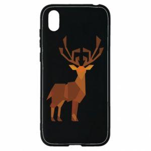 Etui na Huawei Y5 2019 Deer abstraction