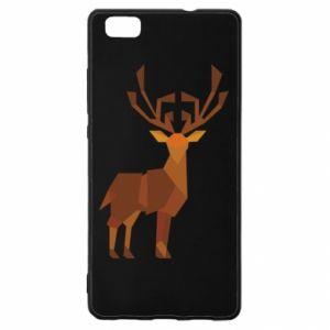 Etui na Huawei P 8 Lite Deer abstraction