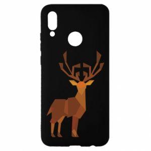Etui na Huawei P Smart 2019 Deer abstraction