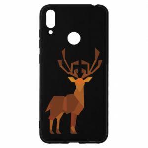 Etui na Huawei Y7 2019 Deer abstraction