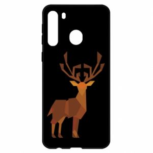 Etui na Samsung A21 Deer abstraction