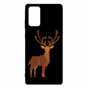 Etui na Samsung Note 20 Deer abstraction