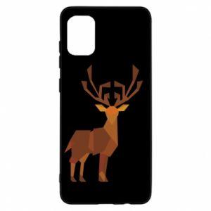 Etui na Samsung A31 Deer abstraction