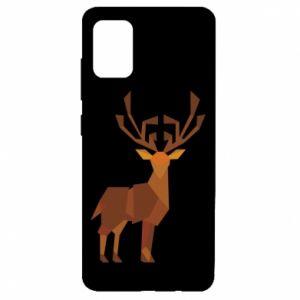 Etui na Samsung A51 Deer abstraction