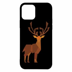Etui na iPhone 12/12 Pro Deer abstraction