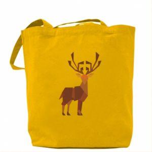 Bag Deer abstraction - PrintSalon