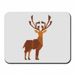 Mouse pad Deer abstraction - PrintSalon