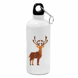 Bidon turystyczny Deer abstraction