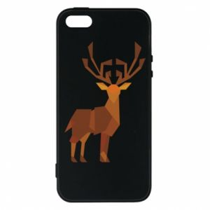 Phone case for iPhone 5/5S/SE Deer abstraction - PrintSalon