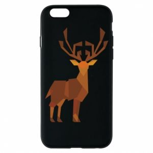 Phone case for iPhone 6/6S Deer abstraction - PrintSalon