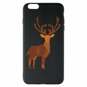 Phone case for iPhone 6 Plus/6S Plus Deer abstraction - PrintSalon