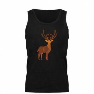 Men's t-shirt Deer abstraction - PrintSalon