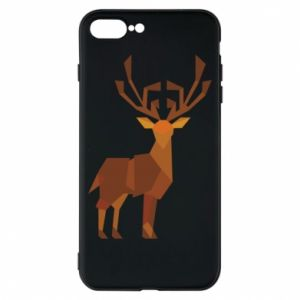 Phone case for iPhone 8 Plus Deer abstraction - PrintSalon