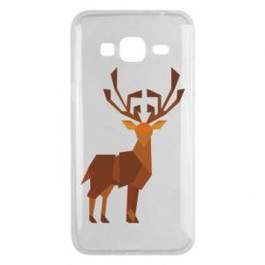 Phone case for Samsung J3 2016 Deer abstraction - PrintSalon