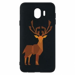 Phone case for Samsung J4 Deer abstraction - PrintSalon