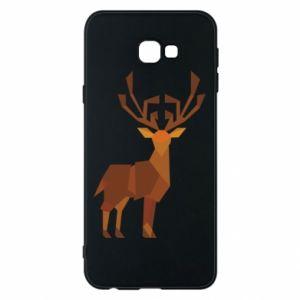 Phone case for Samsung J4 Plus 2018 Deer abstraction - PrintSalon
