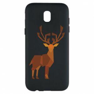Phone case for Samsung J5 2017 Deer abstraction - PrintSalon