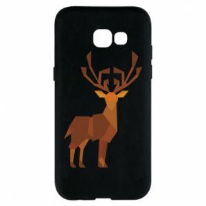 Phone case for Samsung A5 2017 Deer abstraction - PrintSalon