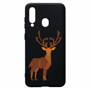 Phone case for Samsung A60 Deer abstraction - PrintSalon
