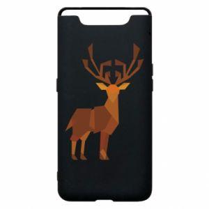 Phone case for Samsung A80 Deer abstraction - PrintSalon