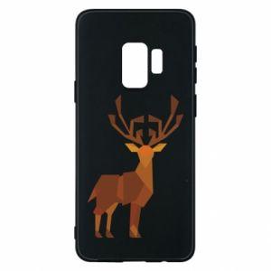 Phone case for Samsung S9 Deer abstraction - PrintSalon