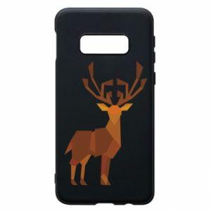 Phone case for Samsung S10e Deer abstraction - PrintSalon