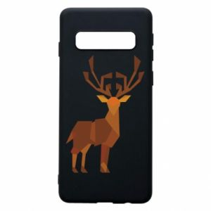 Phone case for Samsung S10 Deer abstraction - PrintSalon